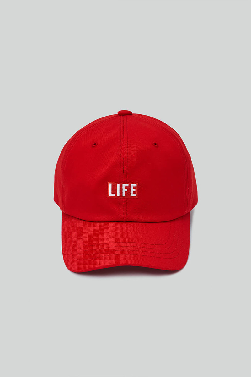 LIFE BALL CAP_RED