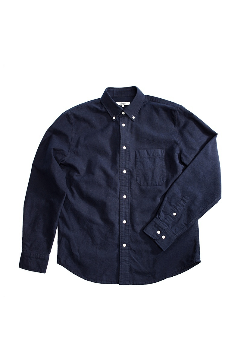TOM NAVY FLANNEL SHIRTS
