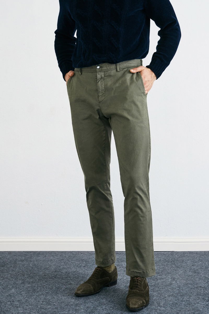 Garment Dyed 248 Tapered Sage olive