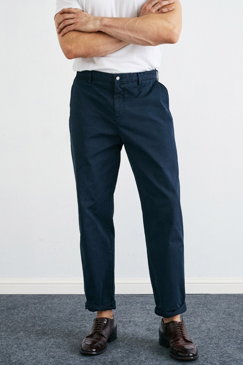 Garment Dyed 302 Tapered Midnight navy