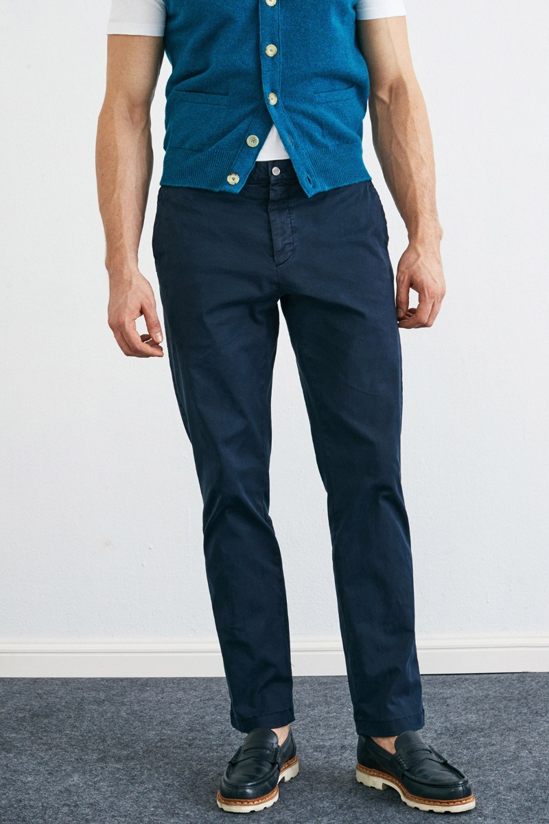 Garment Dyed 248 Tapered Midnight navy