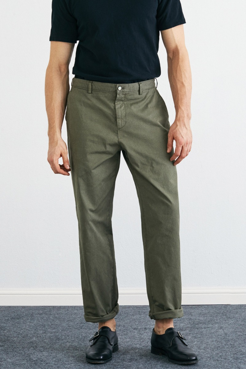 Garment Dyed 302 Tapered Sage olive