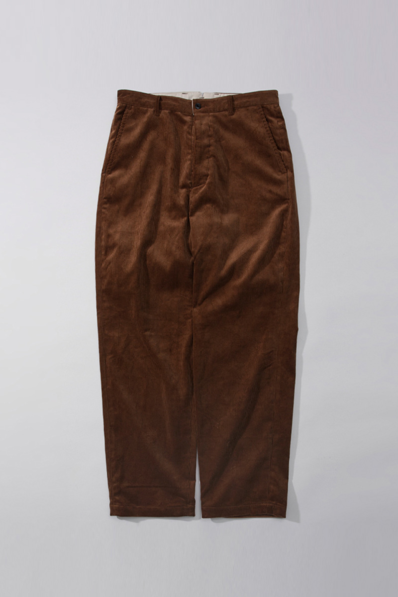 Washed Tapered Pants Corduroy(tan)